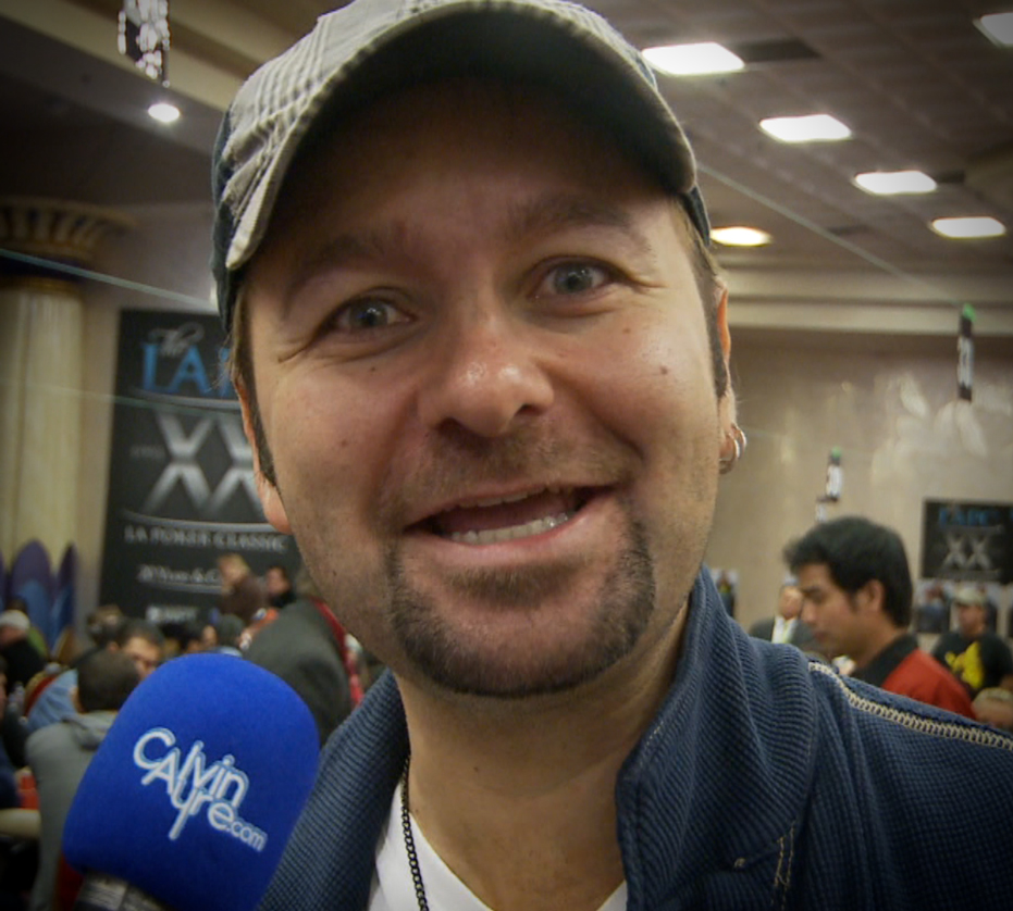 Daniel Negreanu at LA Poker Classic 2012 - Question of the Day Video