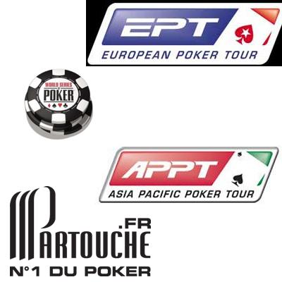 POKER NEWS: EPT; WSOP; APPT; Partouche