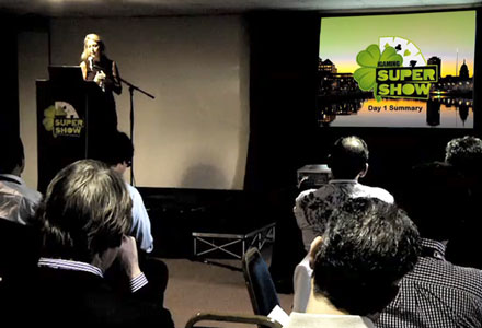 iGaming Super Show 2012 Day 1 Summary Video