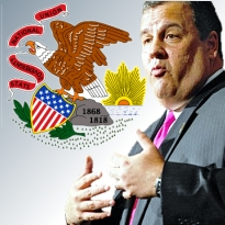 Illinois online gambling push; Christie ducks New Jersey gaming conference