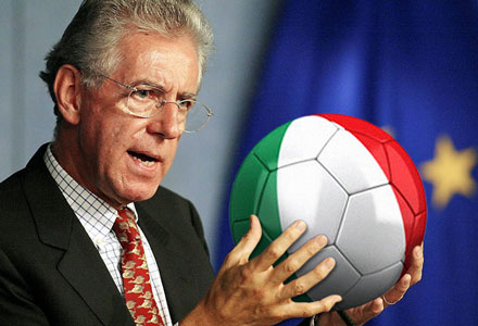 Mario Monti suggests banning football after the latest fixing scandal