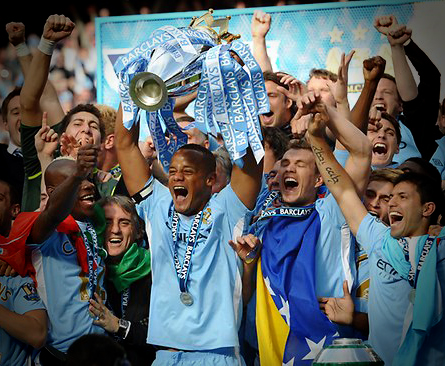 Manchester City wins EPL title in dramatic fashion