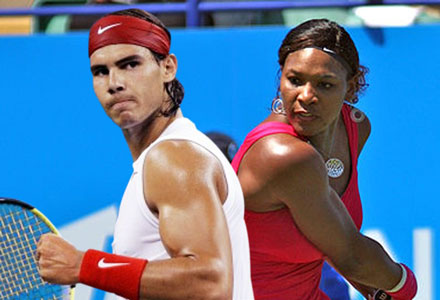 Rafael Nadal, Serena Williams picked as French Open favorites