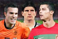 Robin van Persie, Mario Gomez, Cristiano Ronaldo - Dagus Brynjolfsson