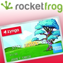 Social casino RocketFrog offers real-world prizes; Zynga partners with Amex