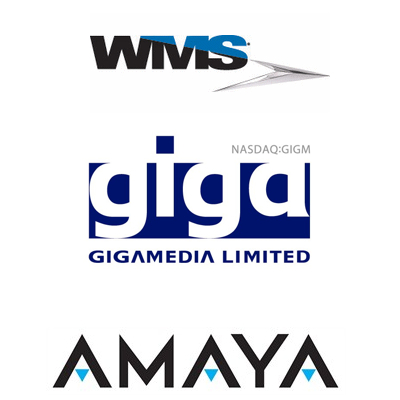 WMS acquires Jadestone; GigaMedia narrows loss; Amaya releases latest slot