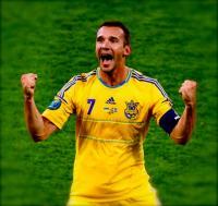 Andriy Shevchenko scores second goal