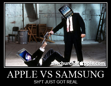Apple and Samsung fighting biggest case ever