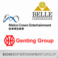 belle corp melco crown genting group echo entertainment