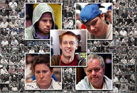 Fast Starts at the 2012 WSOP, Five on Friday
