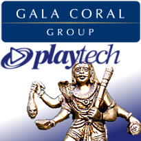 Gala Coral's flat Q2; Camelot after judicial review; Playtech placates Hindus