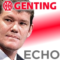 Genting's stealth stock purchase fouls Packer's Echo bid (UPDATED)