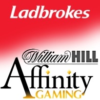 Ladbrokes online decline sinks stock; William Hill extends Affinity sportsbook deal