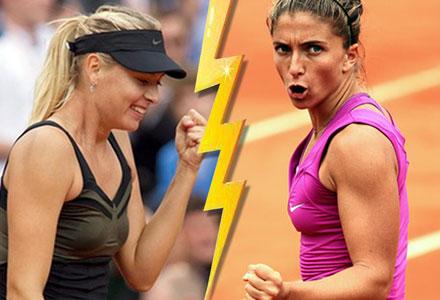Sharapova – Errani to decide 2012 French Open women's title