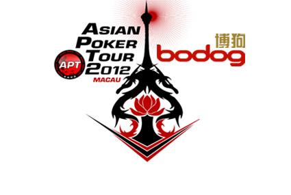 Asian Poker Tour 2012 Macau, Bodog88 logos