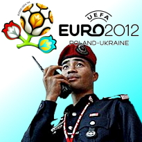 Who will Asian police harass now that Euro 2012 is over?