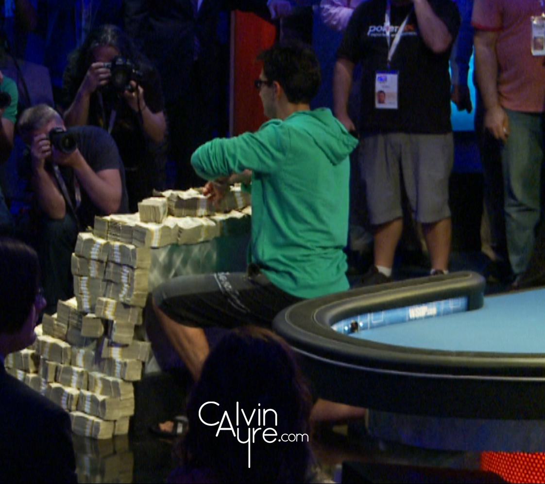 Antonio Esfandiari, Wins the Big 1 for One Drop