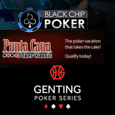 Black Chip Poker now offering Punta Cana Poker Classic giveaways; Genting Poker Series prize hits seven digits