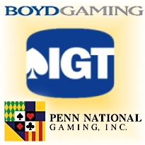 RESULTS: International Game Technology, Boyd Gaming, Penn National Gaming