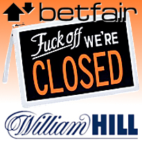 william hill casino close account