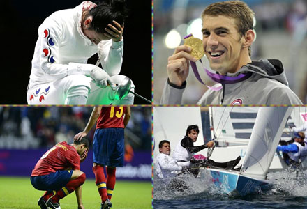 London 2012: Phelps makes history, fencing controversy, Spain's shocking ouster, O'Leary sails on