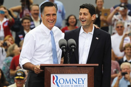 What will Romney appointing Ryan as running mate mean for gambling?