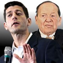 No media allowed as Paul Ryan meets with Sheldon Adelson in Las Vegas