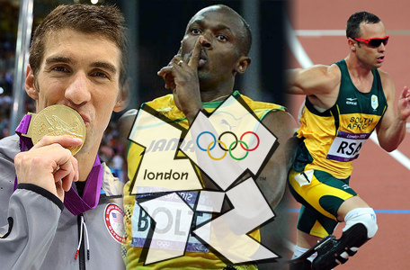 London 2012: The Three Kings of the London Games