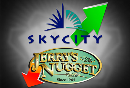 New Zealand's SkyCity reports 13% improvement in revenue; Jerry's Nugget casino files for bankruptcy;