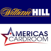 William Hill wants to give money to its staff; Americas Cardroom wants to give a car to its players