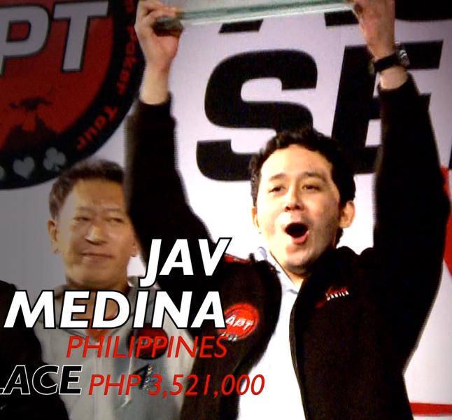 2012 Asian Series Manila 2012 - Final Table Winner