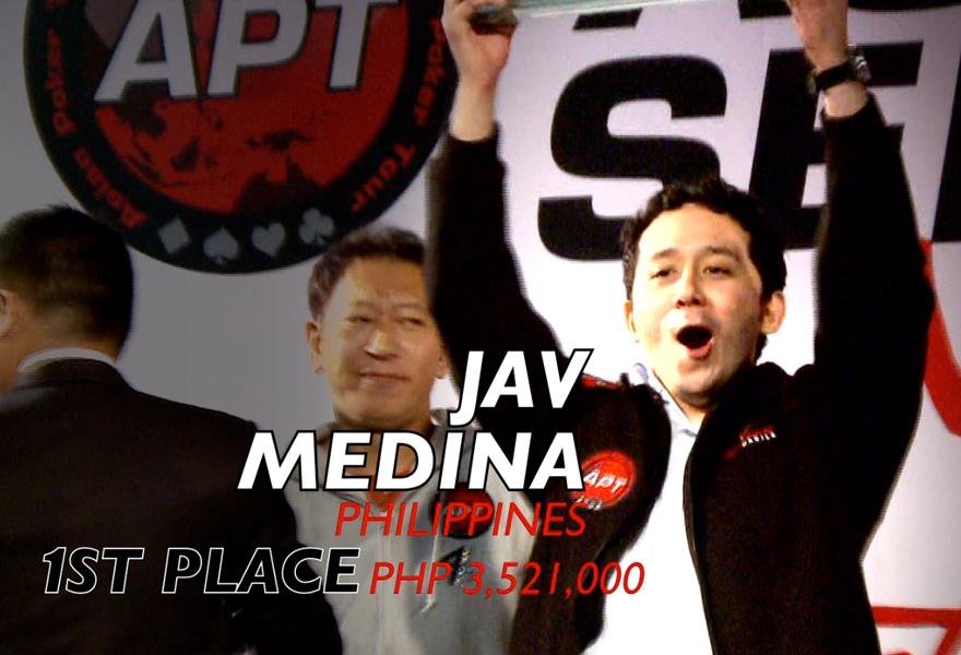 APT Asian Series Manila 2012 – Main Event Final Table Summary