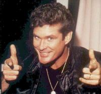 David hasselhoff, celebrity appearance at the G2E Opening Party