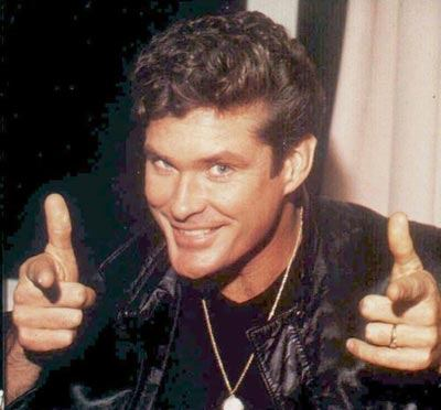 Becky's Bender: The Hoff to Emcee the Global Gaming Expo Party