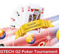 Gtech G2 announces poker tournament promo