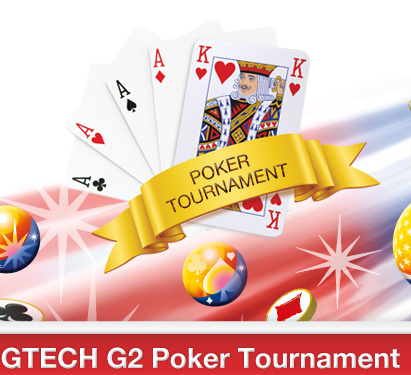 Gtech G2 announces poker tournament promo