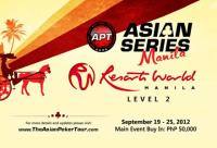 Asian Poker Tour - Asian Series, Manila