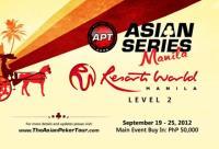 Asian Poker Tour - Asian Series, Manila
