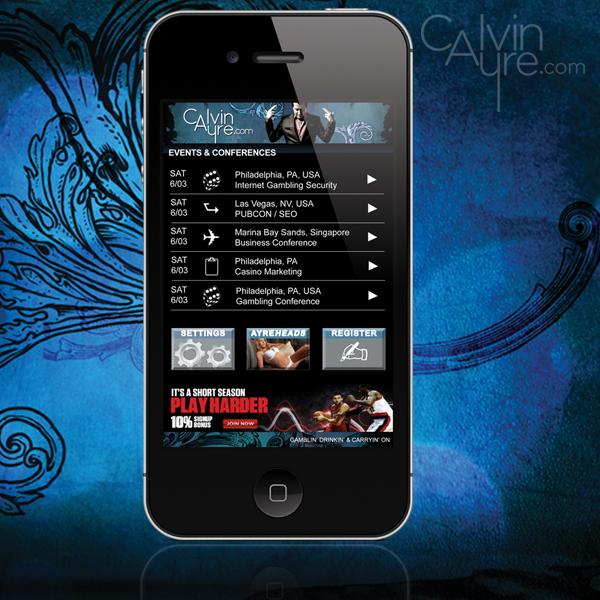 CalvinAyre.com Mobile App