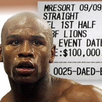 The Mayans got it right: World to end as Mayweather tweets losing betting slip