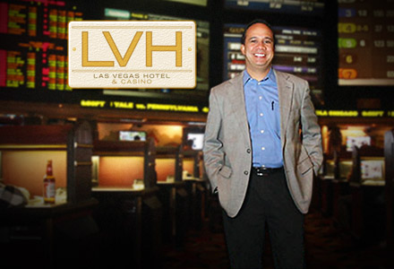 Jay Kornegay, LVH Sportsbook director interview