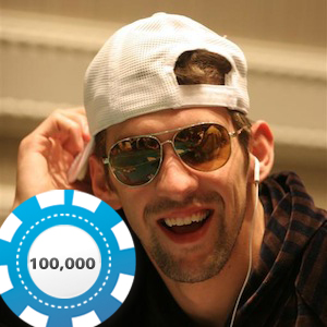 Michael Phelps cleans up at Caesars Palace poker tables
