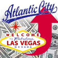 Nevada gambling revenue tops $1b in July; Atlantic City enjoys no-hurricane bump