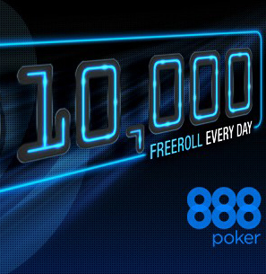 888poker celebrates 40 millionth tournament with month-long, $10,000 freeroll