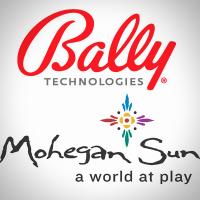 bally partners with mohegan sun