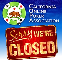 California Online Poker Association folds; Nevada guv touts (his) state's rights