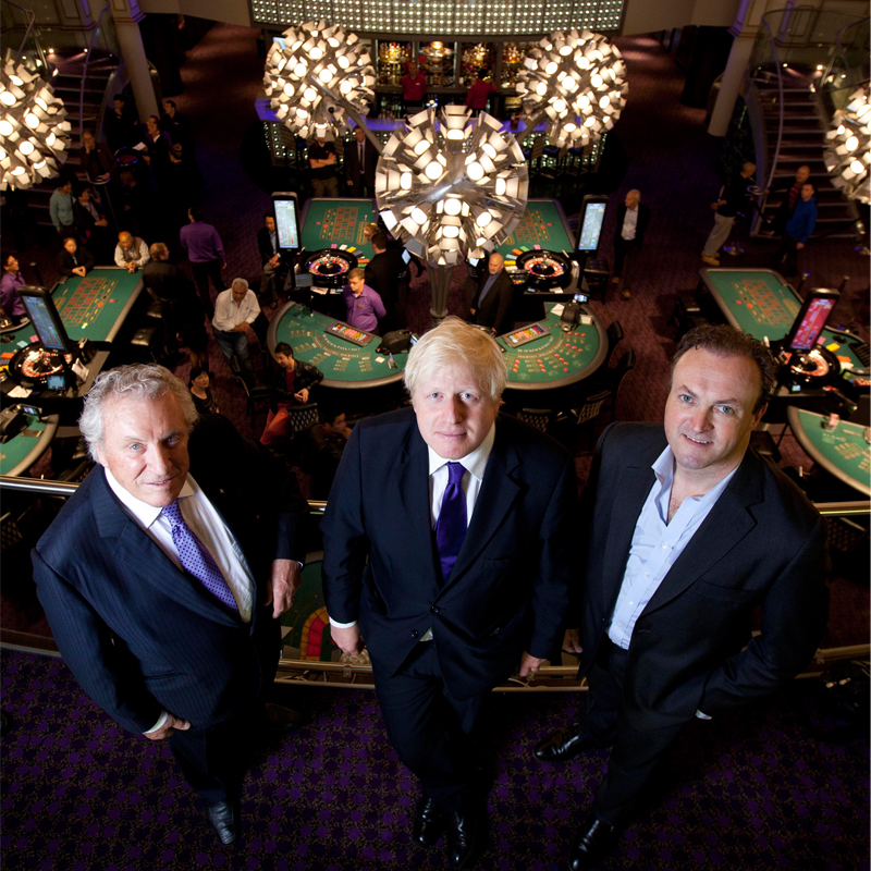 Hippodrome Casino, James Thomas, Boris Johnson, Simon Thomas