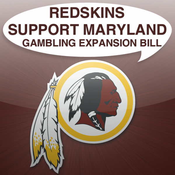 Washington Redskins back Maryland casino expansion bill