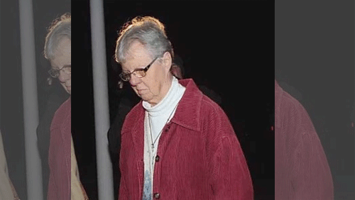 "67-year old nun pleads ""not guilty"" from grand larceny charges stemming from gambling addiction"