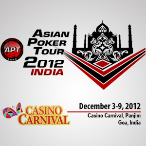 APT concludes year with Asian Poker Tour India 2012